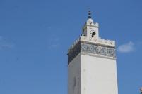 Minaret mešity al-Anouar