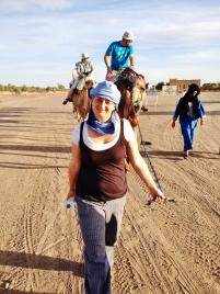 Do pouště bez pokrytí hlavy ani náhodou :-)